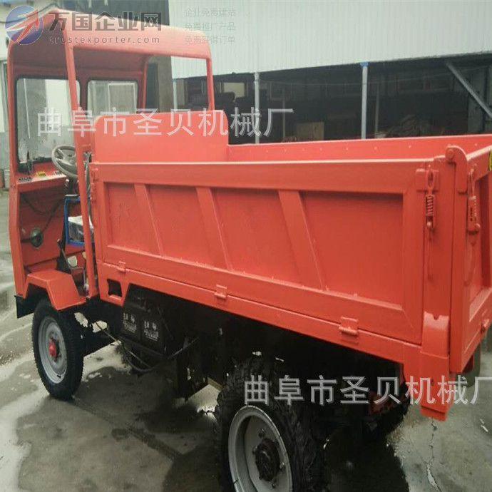 矿用井下自卸四轮拖拉机 农用运输车