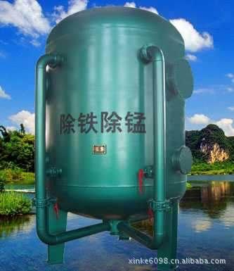 原水解决设施 除铁锰设备