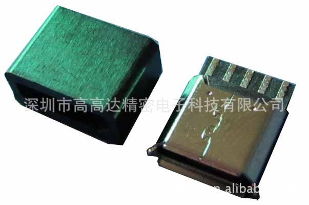 深圳厂家供应MICRO母座焊线式 高高达 MICRO母座焊线 板对线 USB
