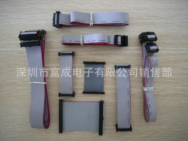厂家直销2651#28 灰排/花排线 板对线 PCB IDC PVC