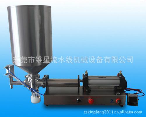 膏体灌装机液体气动灌装机半主动灌装机液体包装机 半自动