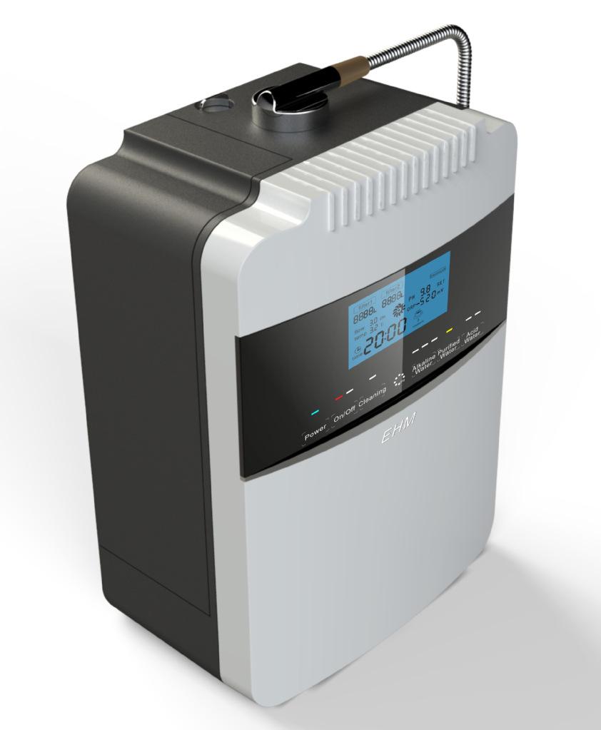 衰弱水解决设施 电解水机 纤维活性炭 亚克力