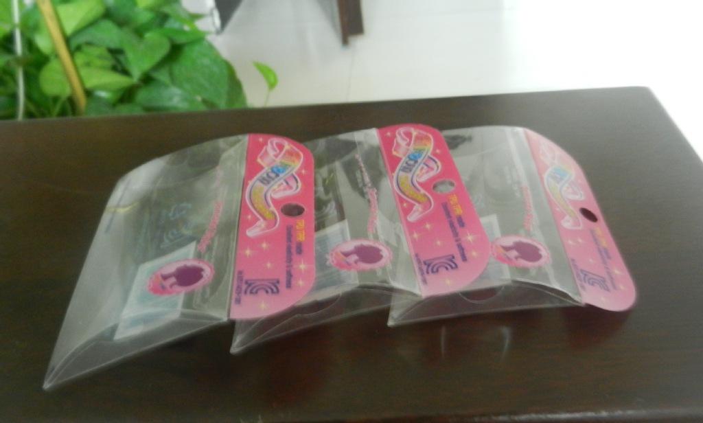 环保印刷通明玩具塑料盒 PVC 可定制 uv印 饰品盒