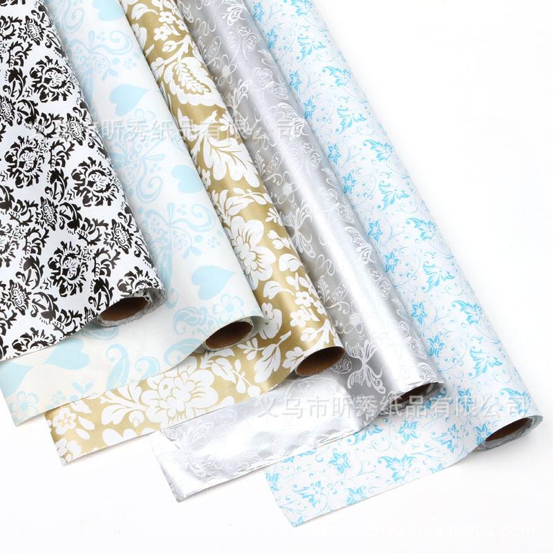 日常淡雅系列花色礼品包装纸 礼品包装