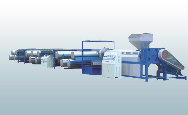 塑料扁丝拉丝机 kangtai/康泰 塑料扁丝拉丝机