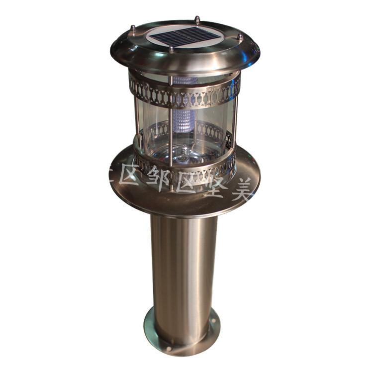 不锈钢太阳能草坪灯 坚美灯具 不锈钢