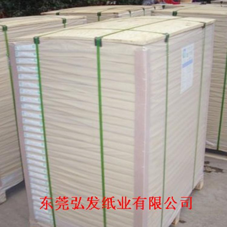 胶版纸60-120克 普通压光 双面施胶 平板装 白色/米黄色