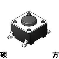 6*6表贴片轻触开关TS-1102W pcb ROHS